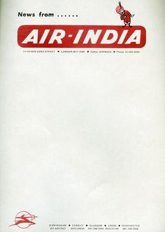 air india letterhead