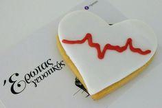 Σαμπλέ καρδιά! Heart cookies! #bezelicious #sable #cookies #valentinesday #heart