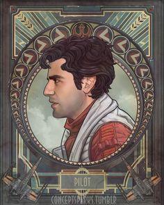 Star Wars (Oscar Isaac - Poe Dameron)
