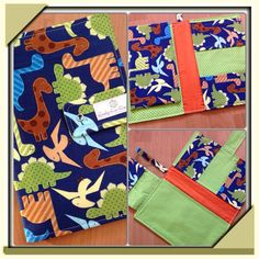 Nappy Wallet 3 pockets and wipes pocket on Etsy, $40.00 AUD