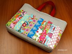 245 Janice Patchwork Bag PDF Pattern - ithinksew.com