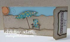 Footloose - Just Chillin Card and Art Philosophy Cricut Cartridge!