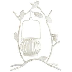 Hanging Bird Tealight Holder - I might have to order this online, I think our store is sold out! #pier1