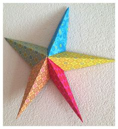 Paperstar paper Star origami