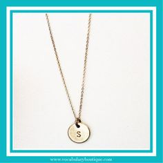 Image of Letter Necklace