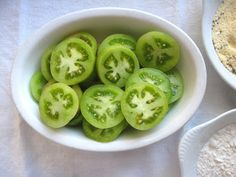 Fried Green tomatoes!  (recipe)
