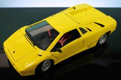 Maisto 1990 Lamborghini Diablo Yellow 1 18 Scale Diecast Model Used No Box | eBay #oldtoysandcollectables #modelcars #dreamcars