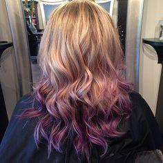 Purple ombre #pravana #vivids