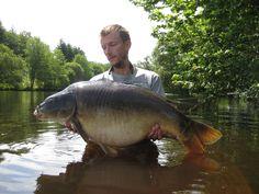 A 38lb carp Lodge Lakes
