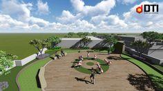 Thi công cảnh quan dự án The Garden – Tân Phú