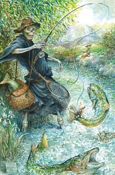 Terry Pratchett's 'Mort' Gets A Gorgeous Illustrated Edition