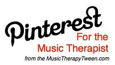 Pinterest for #musictherapy -ists!