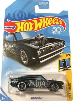 is part of the 2018 Super Treasure Hunt set and in the Checkmate series. Custom Hot Wheels, Hot Wheels Cars, Custom Cars, Hot Wheels Treasure Hunt, Super Treasure Hunt, Hot Wheels Display, Ford Mustang Boss, Matchbox Cars, Plastic Model Kits