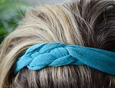 T-shirt DIY Headbands – Inspired By This