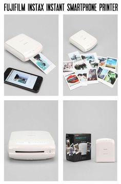 Hard Travel Case for Fujifilm Instax Mini Link Smartphone Printer (Ash White Case Inside White) Fujifilm Instax, Smartphone Printer, Create List, Accessoires Iphone, Polaroid Pictures, Polaroids, Photo Printer, Cool Inventions, Iphone Accessories