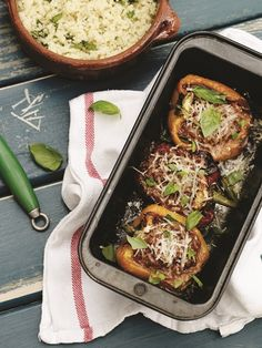 Stuffed Peppers - FOOD FOR THE FAST LANE. Recipes to Power Your Body and Mind - Derval O'Rourke #TeamDerval Stuffed Peppers, Healthy Recipes, Meals, Dinner, Shape, Food, Power Supply Meals, Meal, Stuffed Pepper