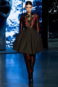 Skirt-Suit Kenzo AW14-15 Collection