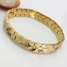 gold bracelets for men designs - Google Search