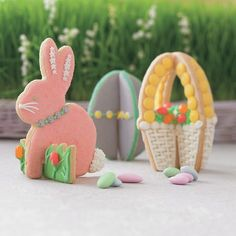 3D Easter sugar cookie