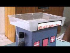 Rain water harvesting project - YouTube