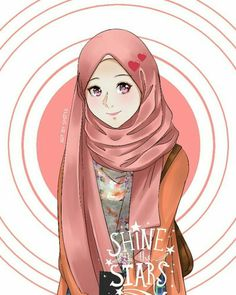 Read 2 from the story Hijabers fanart by RefinaAnnasah with reads. Muslim Pictures, Cute Animal Drawings Kawaii, Hijab Drawing, Islamic Cartoon, Lovely Girl Image, Hijab Cartoon, Islamic Girl, Islamic Wallpaper, Anime Art Girl