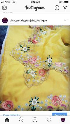 Punjabi Suits Designer Boutique, Boutique Suits, Cutwork Embroidery, Embroidery Dress, Embroidery Suits Design, Embroidery Designs, Punjabi Suits Party Wear, Dress Design Sketches, Punjabi Fashion