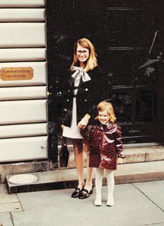 Martha Stewart with her daughter, Alexis.