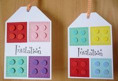 Carte invitation LEGO ...                                                       …