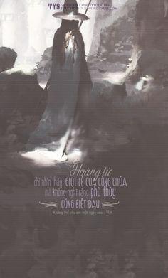 Hoàng tử chỉ nhìn thấy giọt lệ của công chúa mà không nghĩ rằng phù thủy cũng biết đau [Không thể yêu em một ngày sao - Vĩ Y] [Design: Vin]