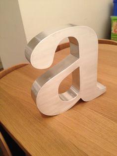 """""""a"""" £25 per letter"""