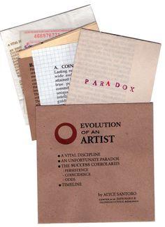evolution of an artist