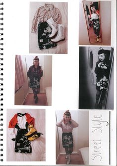 Final garment 1980's skinhead shirt inspired by Nava Lubelski outcome. Street Style. Sketchbook