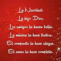 La #Navidad se acerca, por eso te damos las mejores #Frases para celebrar esta linda celebración.