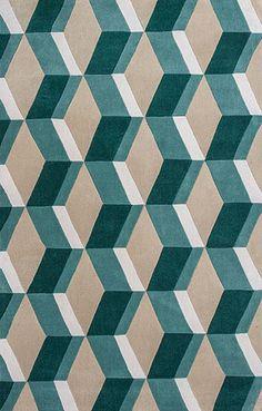 Soho Rugs | Studio Rugs Collection I | Zolo 3903 Sand/Seafoam Dimensions Rug