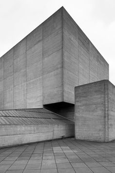 new-brutalism:  National Theatre 3 South Bank London Denys...