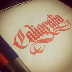 Lettering & Calligraphy sketches on Behance