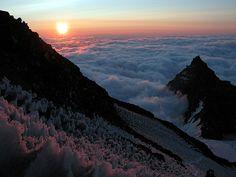 Sunrise on Mt. Rainier by TroyMason, via Flickr