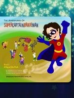 Kyle is a boy like any other boy his age, only he has a rare condition that hinders his day-to-day physical abilities. It is when Kyle dreams that he transforms into his alter ego, SuperCaptainBraveMan! SuperCaptainBraveMan is a friend to all kids, helping them discover their own courage and strength to overcome daily challenges.