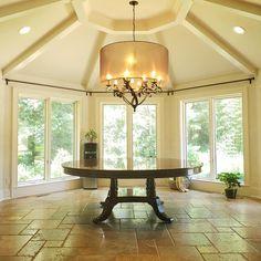 Dining Room, Dining Table, Designer, Room Ideas, Neutral, Chandelier, Ceiling Lights, Lighting, Furniture