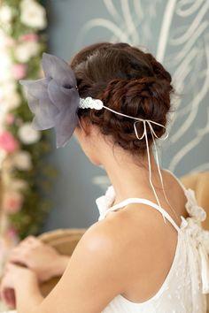 """► Tocado de novia de lujo. Muy elegante y """"posh."""" #tocados #novia"""