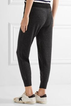 James Perse - Genie Cashmere Track Pants - Anthracite - 2