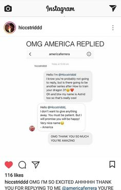 Do you believe this!!! America that voices Astrid in the series and the movies replied this!!! I'm now assured that there will be more series for this or shorts!! Love this!! RTTE and HTTYD can't end! :'(