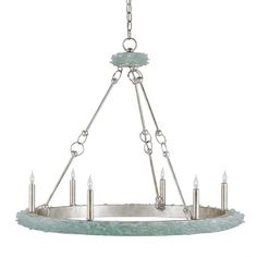 Tidewater Coastal Chandelier (£1,570) ❤ liked on Polyvore featuring home, lighting, ceiling lights, currey company lighting, coastal style lamps, coastal lighting, coastal lamps and coastal chandelier lighting