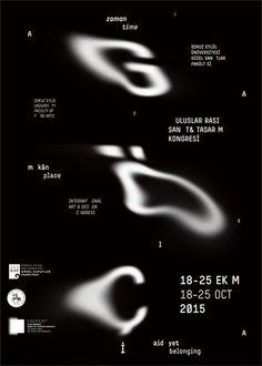 Typografisch ontwerp dat me inspiriteert