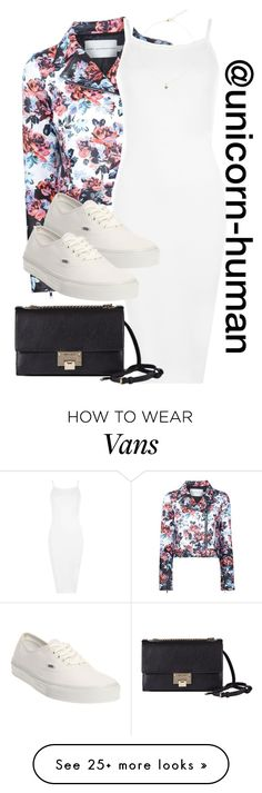 """Untitled #1913"" by unicorn-human on Polyvore featuring Mary Katrantzou, WearAll, Vans, Liz Law and Jimmy Choo"