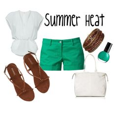 Summer Heat, created by alyshalyon on Polyvore