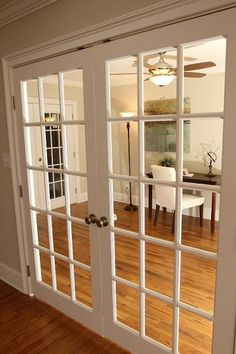New Kitchen Design Open Concept French Doors Ideas French Doors Bedroom, Bedroom Doors, White Bedroom, Double Bedroom, Diy Bedroom, Kitchen Design Open, Open Concept Kitchen, Living Room Remodel, Living Room Decor