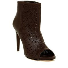 Stuart Weitzman In And Out Leather Bootie - Wide Width Available ($174) ❤ liked on Polyvore featuring shoes, boots, ankle booties, ankle boots, seqsha, booties, platform bootie, bootie and platform boots