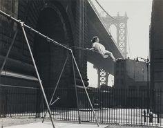 Walter Rosenblum -  Girl on a swing, 1938
