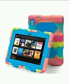ACEGUARDER-Shockproof-Case-for-Kindle-Fire-HDX-7-Rainproof-Waterproof-Shockp